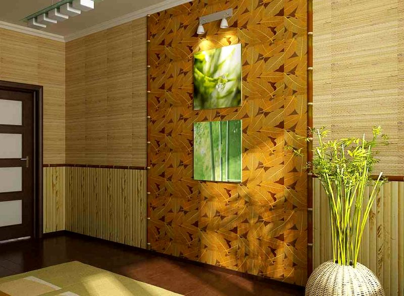 Бамбук на стену дизайн