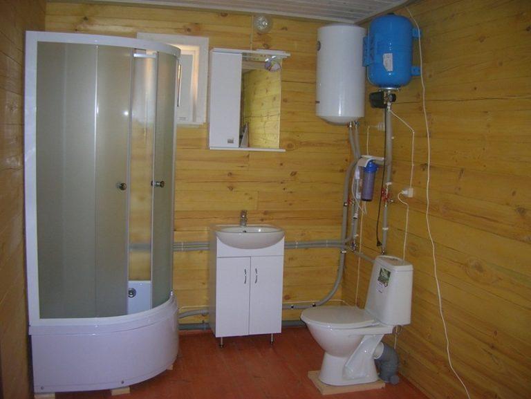 Как сделать теплый туалет в частном доме