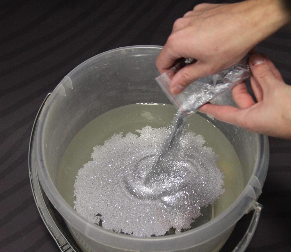 Делаем сухую воду в домашних условиях