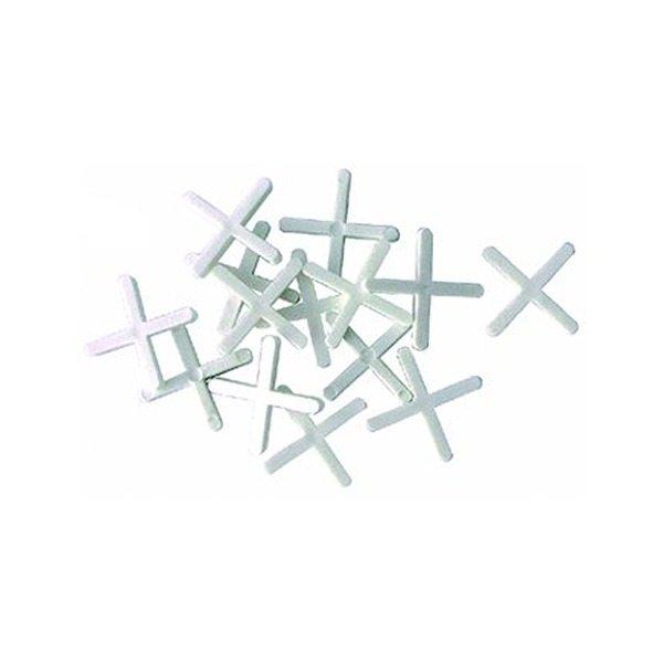 Чтобы кладка была аккуратной, применяйте крестики для швов.