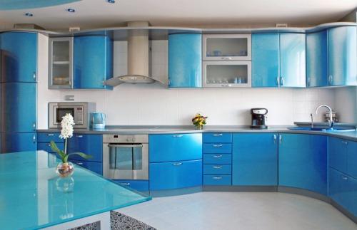 цветовая гамма в интерьере кухни