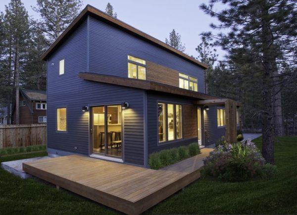 Даже на небольшом загородном участке при правильном подходе можно построить дом своей мечты