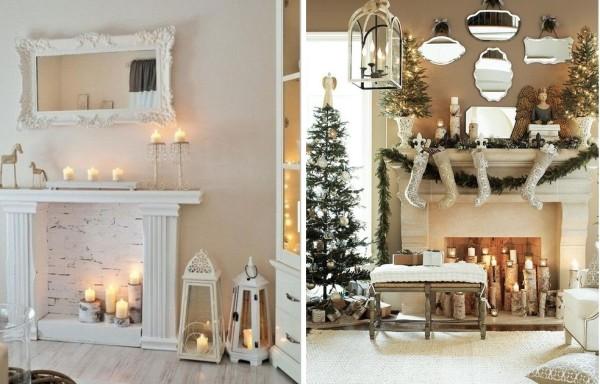Декор свечами
