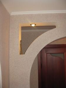 Декоративная штукатурка арки