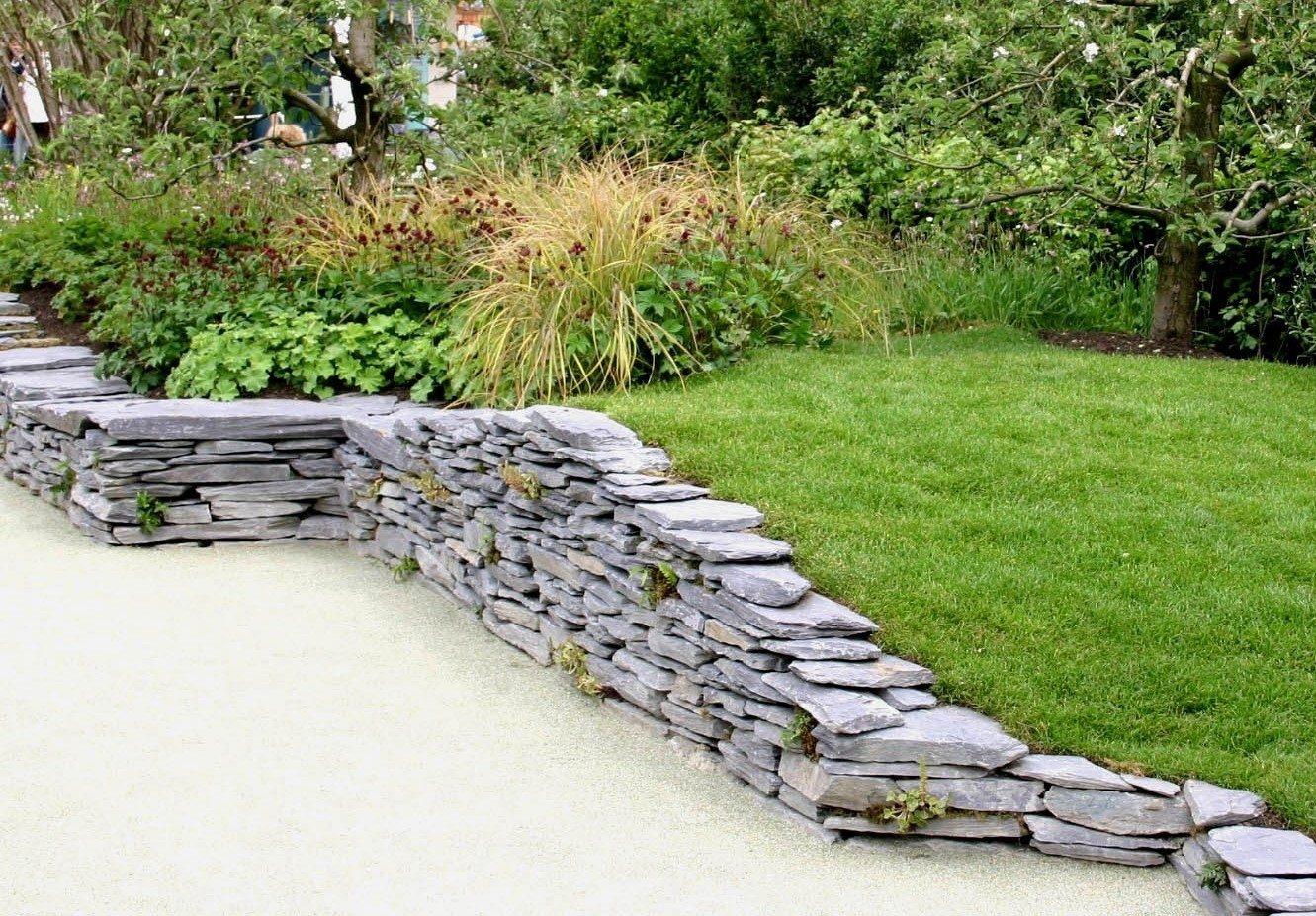 Подпорная стенка: виды конструкций, ландшафтный дизайн, инструкция как сделать, видео и фото