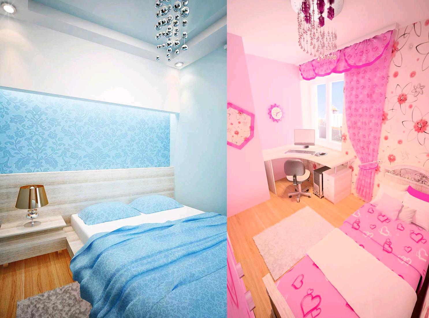 Комната в однокомнатной квартире для родителей и ребенка фото