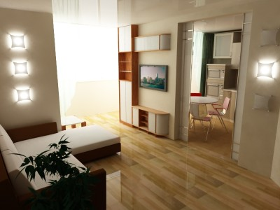 Ремонт дизайн 2 комнатной квартиры