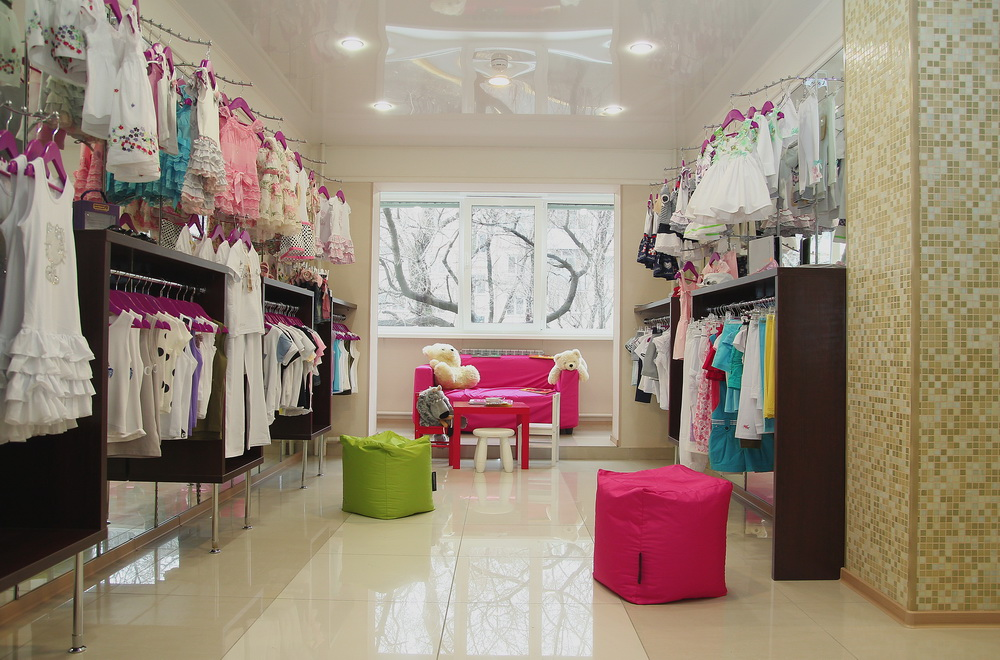 фото оформление детских магазинов