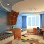 Дизайн детской комнаты: интересный интерьер для школьника