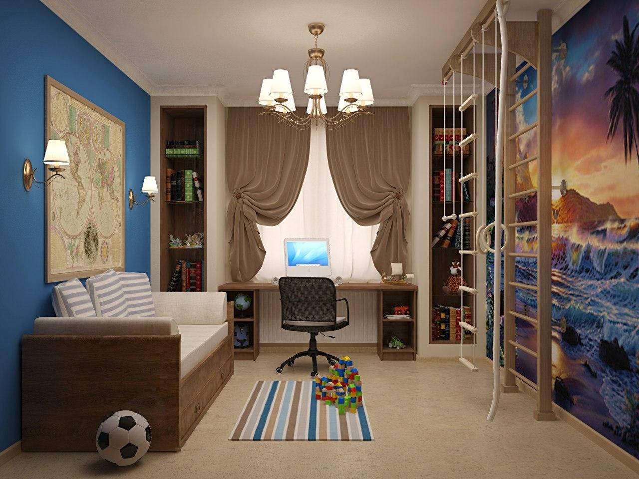 Дизайн комнаты для юношей