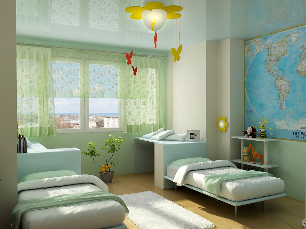 Дизайн спальни детская