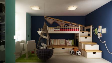 Интерьер спальни для мальчиков подростков