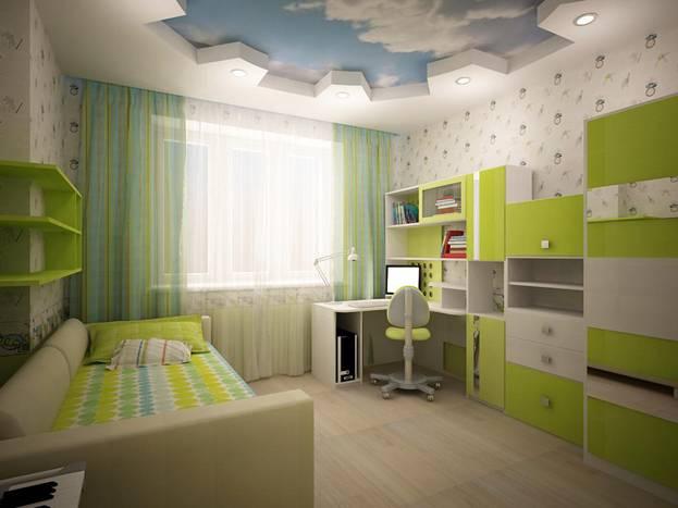 Дизайн детской спальни для мальчика фото