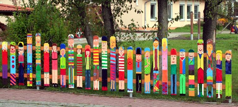 дизайн детской площадки своими руками