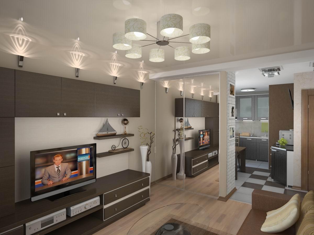 Дизайн двухкомнатных квартир фото