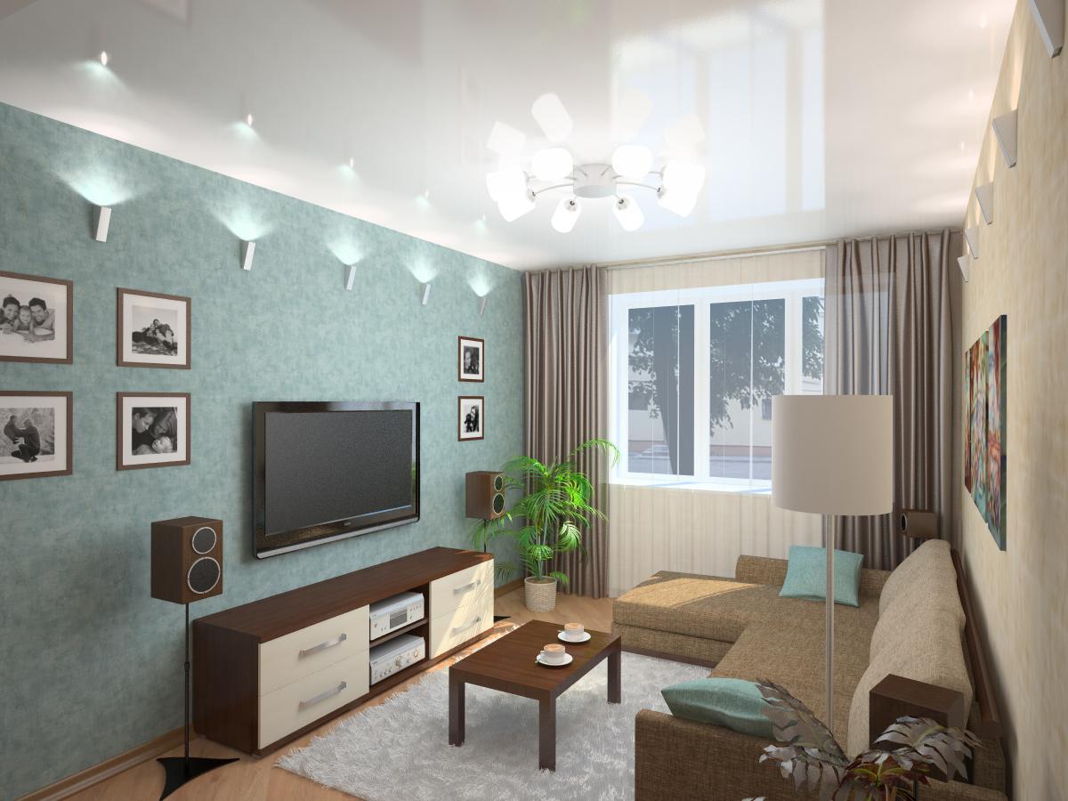 Дизайны комнаты 16 метров