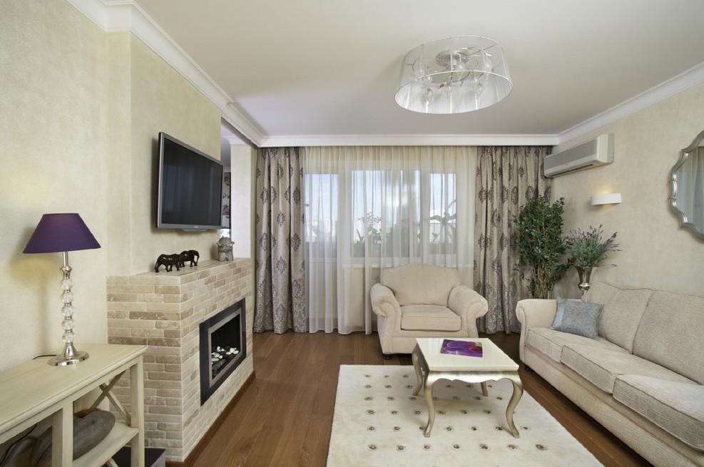 Оформление гостиной 18 кв.м с угловым электрокамином купить электрокамин в максидоме
