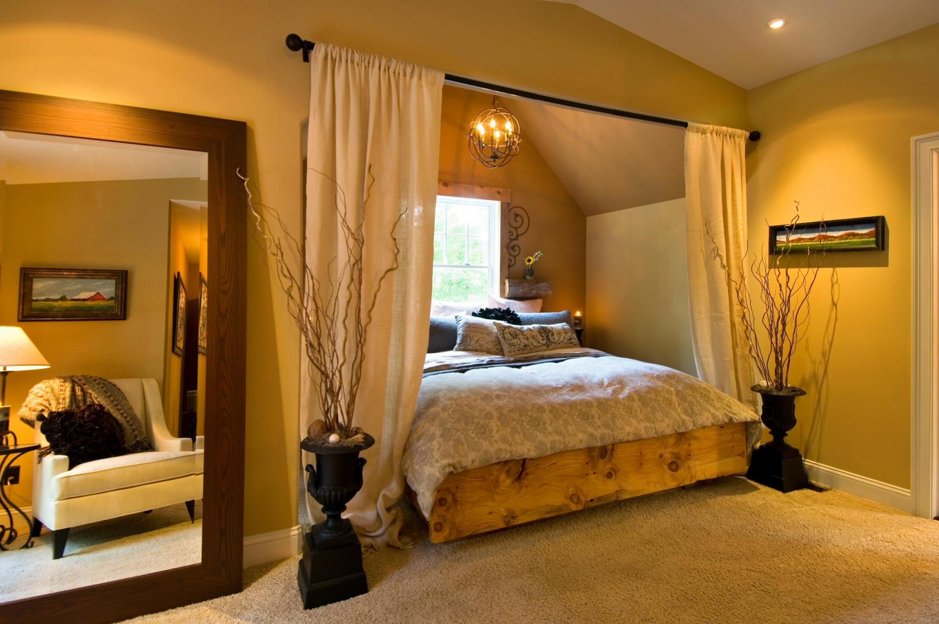 Уютные спальни своими руками
