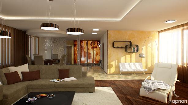 Дизайн гостиной стенки
