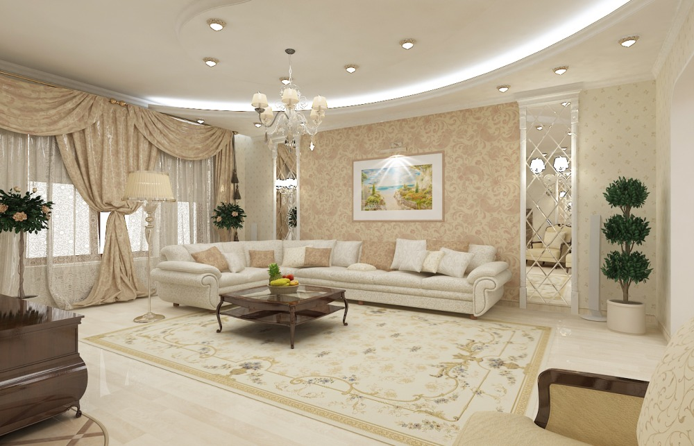 Классический ремонт и дизайн квартир