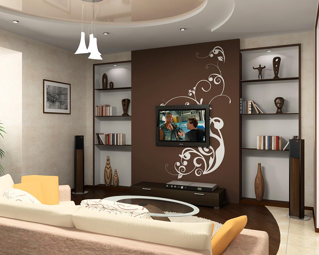 Гостиные дизайн для типовых квартир