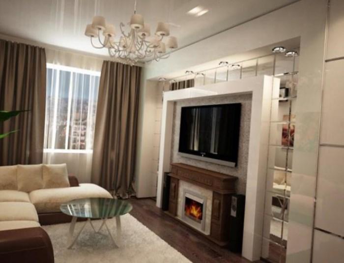 Дизайн в гостиной в квартире фото в маленькой квартире