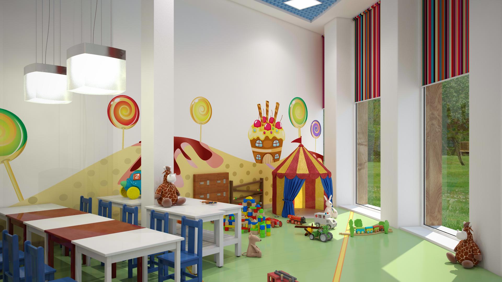 Дизайн детских садов в фотографиях