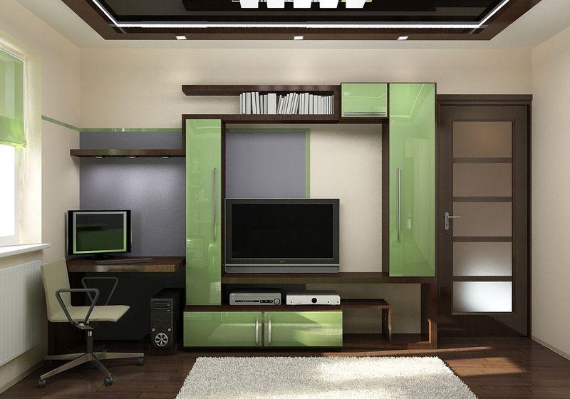 Дизайн 12 м комнаты