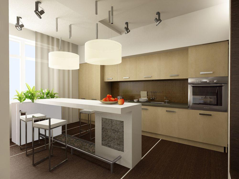 Дизайн интерьеров кухни