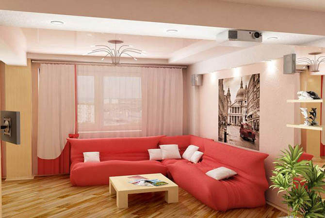 дизайн комнаты 10 кв м