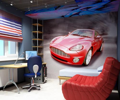 Дизайн комнаты для 2 подростков