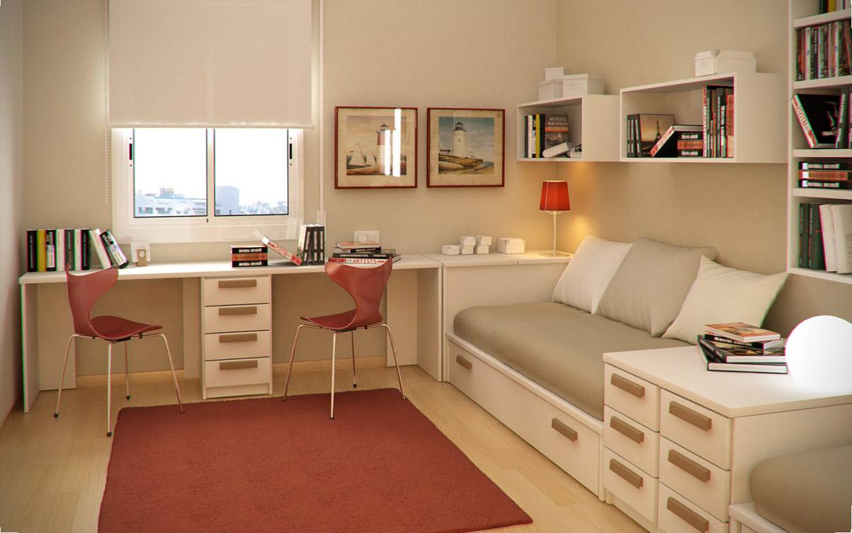 Комната 3 на 3 дизайн фото спальня для подростков