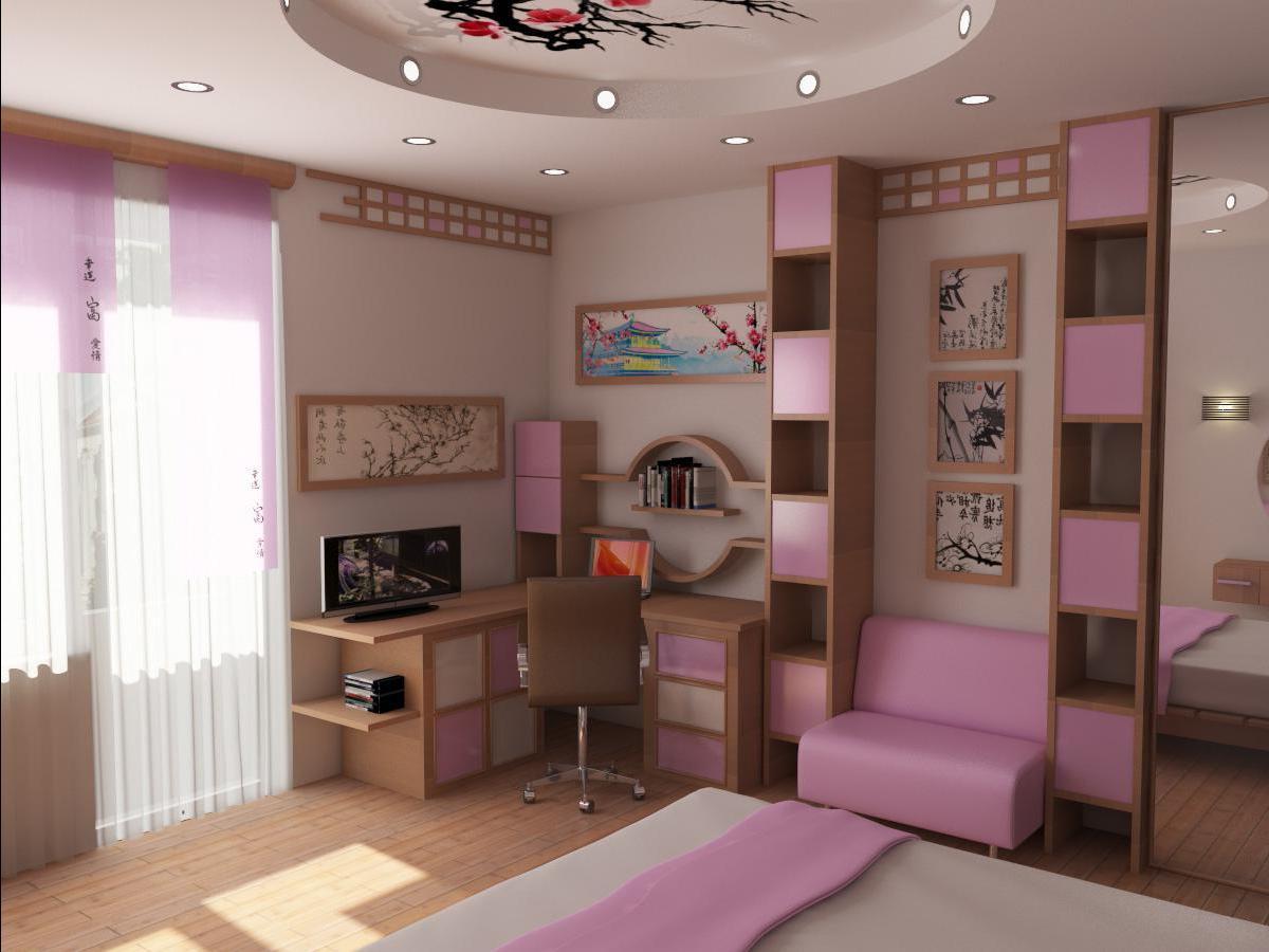 Дизайн комнаты 12 лет