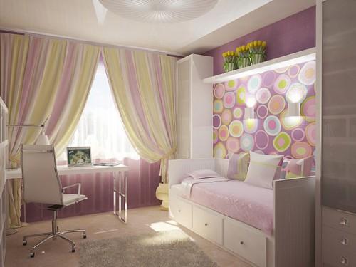 Детская комната для девочки подростка фото дизайн