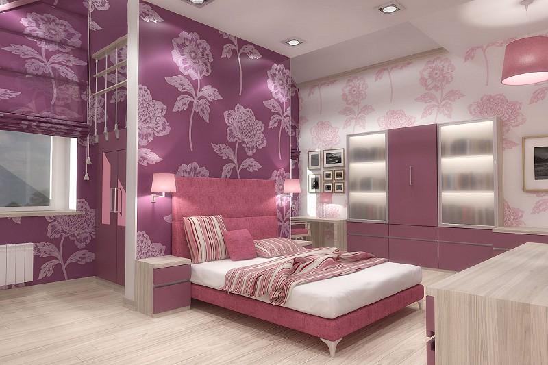 Комната подростка дизайн для девочки