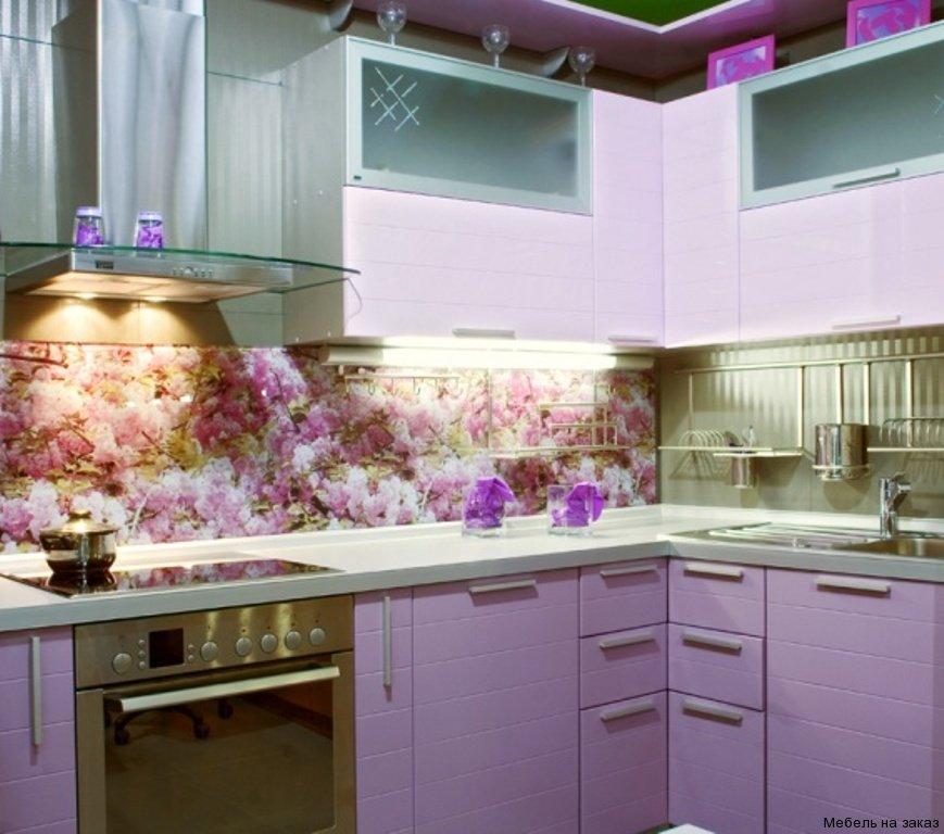Интерьерное фотостекло, стеклянные панели для кухни с изображением