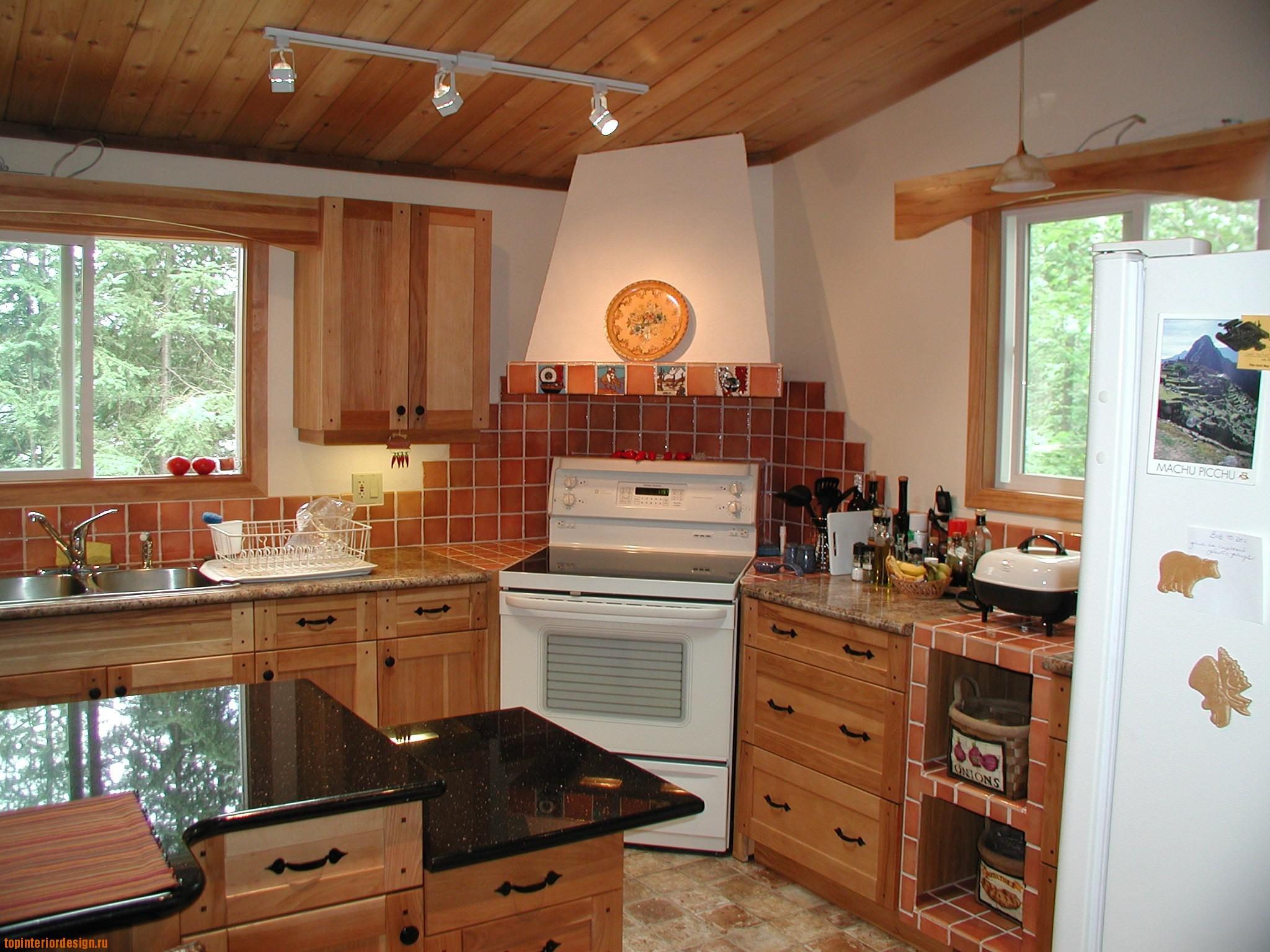 Дизайн кухни своими руками в частном доме