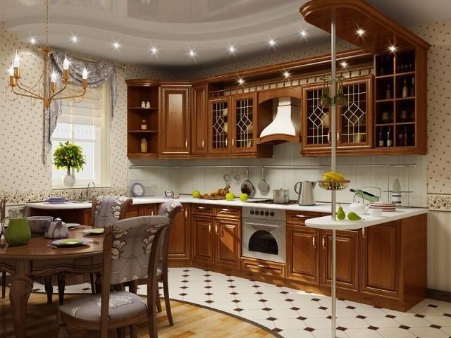 кухня в стиле классическом фото