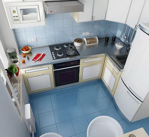 Кухня дизайн 9 метров хватит для