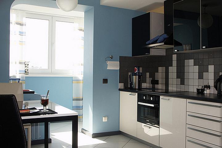 Площадь большинства кухонь не особо