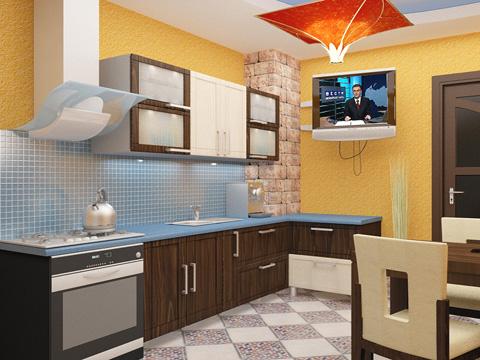 Интерьеры кухни своими руками фото 94