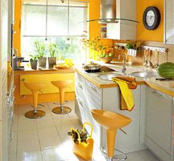 Ремонт кухни с перепланировкой или