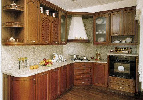 Дизайн кухни в классическом стиле и