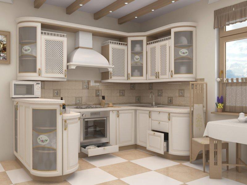 Цветовая гамма и освещенность кухни