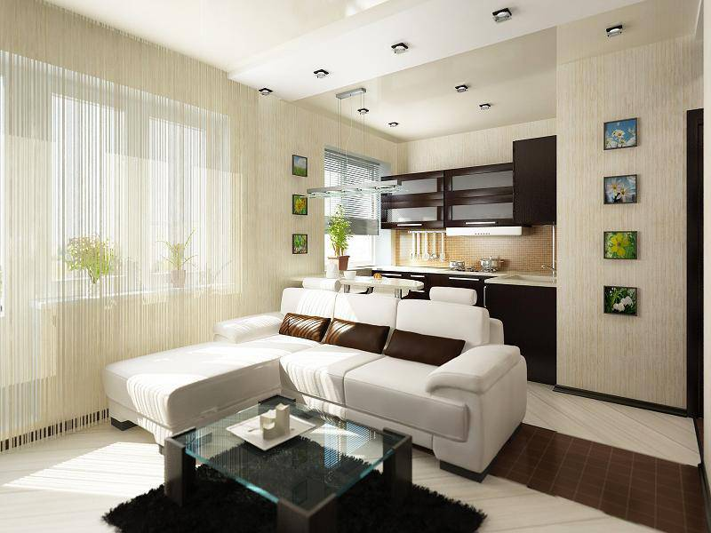 Комната-студия дизайн