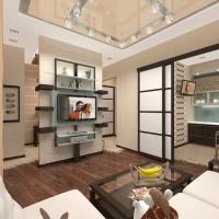 Дизайн интерьера стандартных квартир