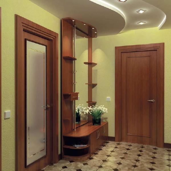 Дизайн маленькой прихожей в квартире в панельном доме