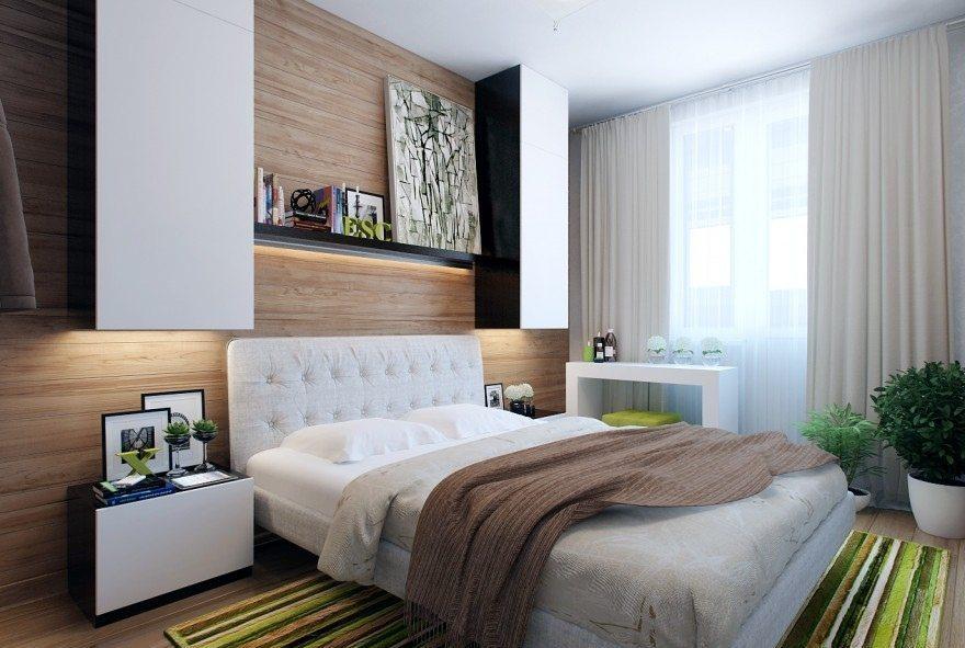 Спальня дизайн маленькая комната