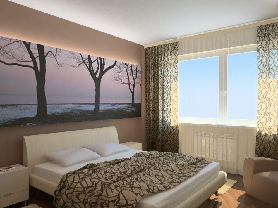 фото маленькой спальни интерьер