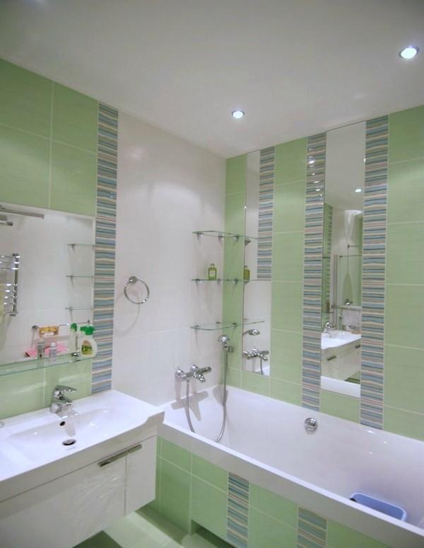 Дизайн ванной типовой